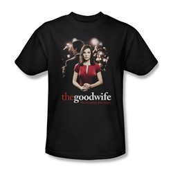 The Good Wife - Bad Press Adult T-Shirt In Black
