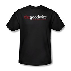 The Good Wife - The Good Wife Logo Adult T-Shirt In Black