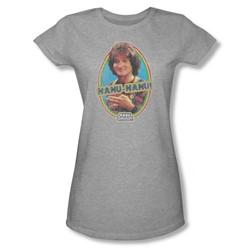 Mork & Mindy - Nanu Nanu Juniors T-Shirt In Heather