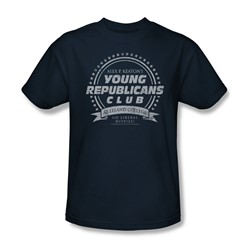 Family Ties - Young Republicans Club Adult T-Shirt In Navy