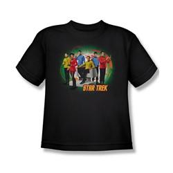 Star Trek: The Original Series - Enterprises Finest Big Boys T-Shirt In Black