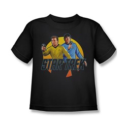 Star Trek: The Original Series - Phasers Ready Juvee T-Shirt In Black