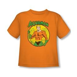 Aquaman - Aquaman Toddler T-Shirt In Orange