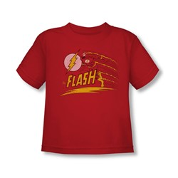 The Flash - Like Lightning Toddler T-Shirt In Red