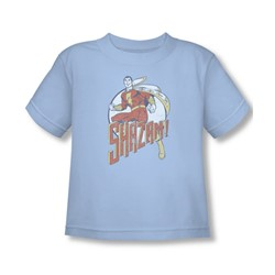 Shazam - Steppin' Out Toddler T-Shirt In Light Blue