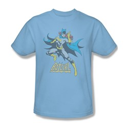 Batgirl - See Ya Adult T-Shirt In Light Blue