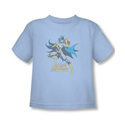 Batgirl - See Ya Toddler T-Shirt In Light Blue