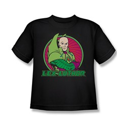Dc Originals - Lex Luthor Big Boys T-Shirt In Black