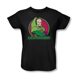 Dc Originals - Lex Luthor Womens T-Shirt In Black