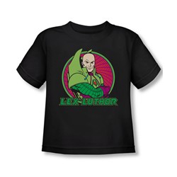 Dc Originals - Lex Luthor Toddler T-Shirt In Black
