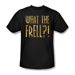Farscape - What The Frell Adult T-Shirt In Black
