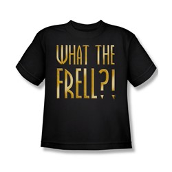 Farscape - What The Frell Big Boys T-Shirt In Black