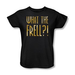 Farscape - What The Frell Womens T-Shirt In Black