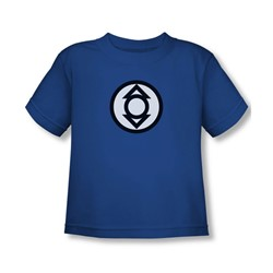 Green Lantern - Indigo Tribe Logo Toddler T-Shirt In Royal