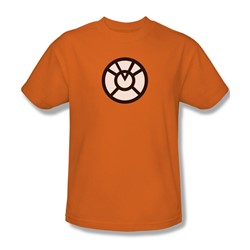 Green Lantern - Agent Orange Logo Adult T-Shirt In Orange