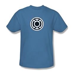 Green Lantern - Blue Lantern Logo Adult T-Shirt In Carolina Blue