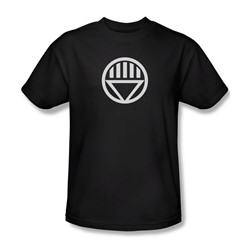 Green Lantern - Black Lantern Logo Adult T-Shirt In Black