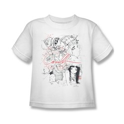 Helmet Girls - Mechanical Juvee T-Shirt In White
