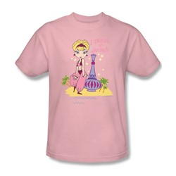 I Dream Of Jeannie - Island Dance Adult T-Shirt In Pink