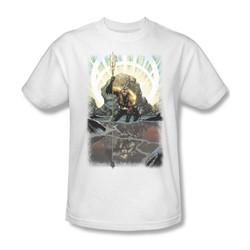 Aquaman - Brightest Day Aquaman Adult T-Shirt In White