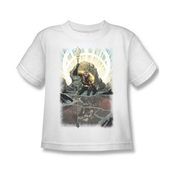 Aquaman - Brightest Day Aquaman Juvee T-Shirt In White