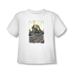 Aquaman - Brightest Day Aquaman Toddler T-Shirt In White