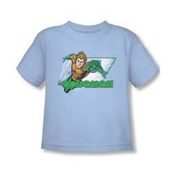 Aquaman - Aquaman Toddler T-Shirt In Light Blue