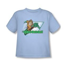 Aquaman - Aquaman Toddler T-Shirt In Light Blue