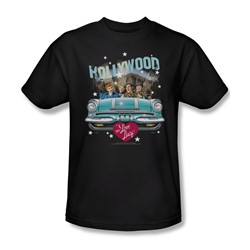 I Love Lucy - Hollywood Road Trip Adult T-Shirt In Black