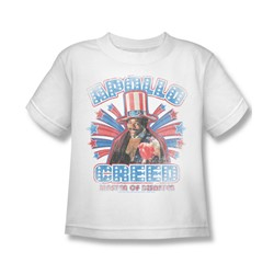 Rocky - Apollo Creed Juvee T-Shirt In White