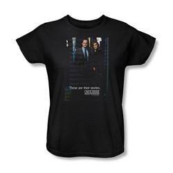 Law & Order: Special Victim's Unit - Special Victims Unit Womens T-Shirt In Black