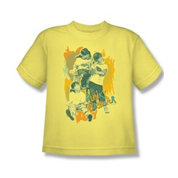 Punky Brewster - Tri-Punky Big Boys T-Shirt In Banana