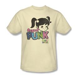 Punky Brewster - Punk Gear Adult T-Shirt In Cream