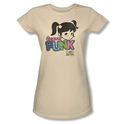 Punky Brewster - Punk Gear Juniors T-Shirt In Cream