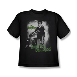 The Munsters - Have You Seen Spot Big Boys T-Shirt In Black