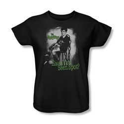 The Munsters - Have You Seen Spot Womens T-Shirt In Black