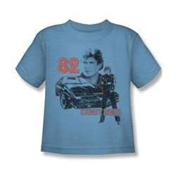 Knight Rider - 1982 Juvee T-Shirt In Carolina Blue