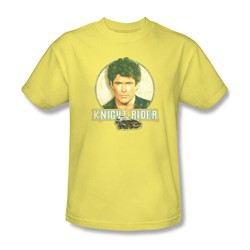 Knight Rider - Vintage Adult T-Shirt In Banana