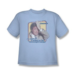 Columbo - Inconspicuous Big Boys T-Shirt In Light Blue