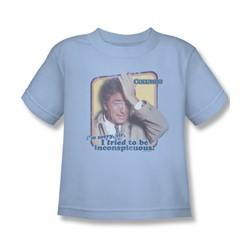 Columbo - Inconspicuous Juvee T-Shirt In Light Blue