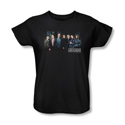 Law & Order: Special Victim's Unit - Svu Cast Womens T-Shirt In Black