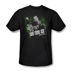 Law & Order: Special Victim's Unit - I'Ll Kill Ya Adult T-Shirt In Black