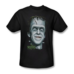 The Munsters - Herman's Head Adult T-Shirt In Black