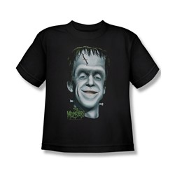 The Munsters - Herman's Head Big Boys T-Shirt In Black