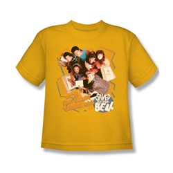 Saved By The Bell - It's All Right Big Boys T-Shirt In Gold