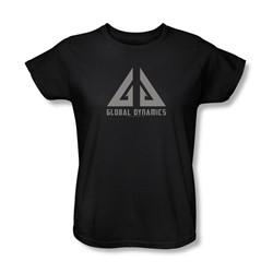 Eureka - Global Dynamic Logo Womens T-Shirt In Black