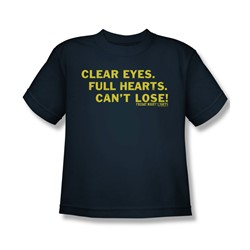 Friday Night Lights - Clear Eyes Youth T-Shirt In Navy