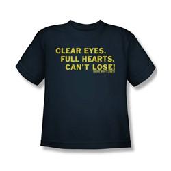 Friday Night Lights - Clear Eyes Big Boys T-Shirt In Navy