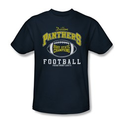 Friday Night Lights - State Champs Adult T-Shirt In Navy