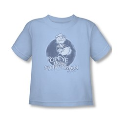 Popeye - Original Sailorman Toddler T-Shirt In Light Blue